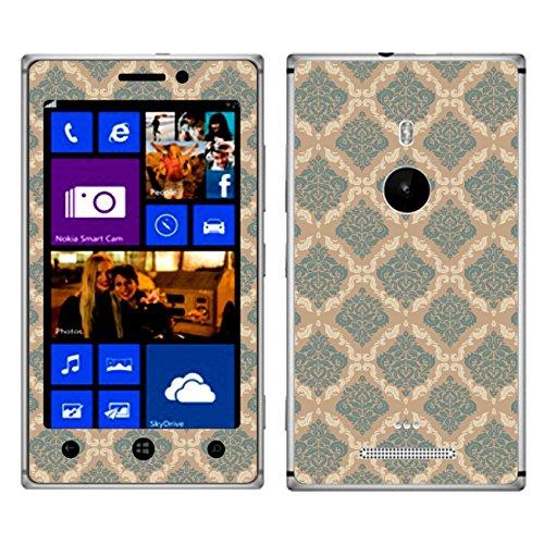 Disagu SF-105011_835 Design Skin für Nokia Lumia 925 - Motiv Damast_dreifarbig_04