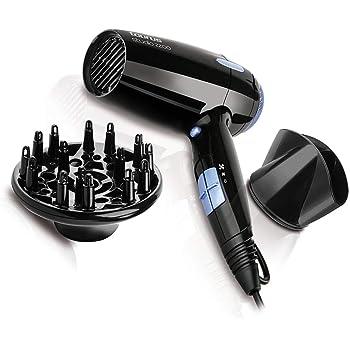 Philips Thermoprotect HP8230/00, Secador de Pelo, Motor DC, Boquilla 14 mm y, 3 Velocidades, 3 Temperaturas, 2100 W, Negro y Lila: Amazon.es: Salud y cuidado personal