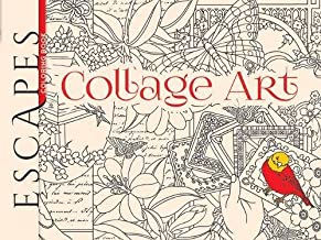 ESCAPES Collage Art Coloring Book (Adult Coloring)