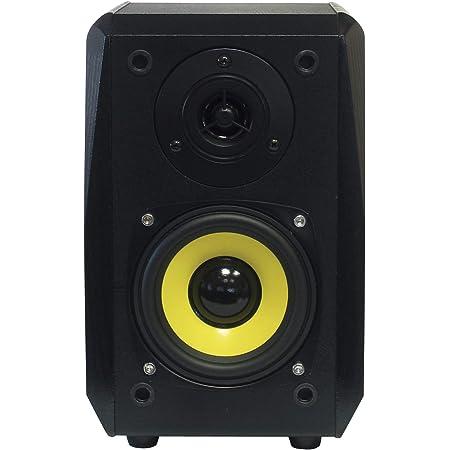 Dynavox Tg 1000b Regal Lautsprecher Kompakte 2 Wege Box Mit Abnehmbarer Abdeckung Bassreflex Öffnung Paar Schwarz Audio Hifi