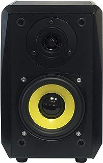 Dynavox TG-1000B - Altavoces de estantería (HiFi, 30 W RMS 8 ohms, 60 Hz - 20 kHz), color negro