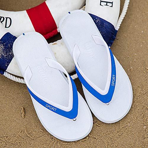 SGZBY Chanclas Pareja Chanclas Chanclas Personalidad Ocio Al Aire Libre Marea Playa Zapatillas Hombre Verano