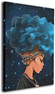 African Women with Blue Hair 8