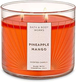 Bath & Body Works 3 Wick Candle, Pineapple Mango