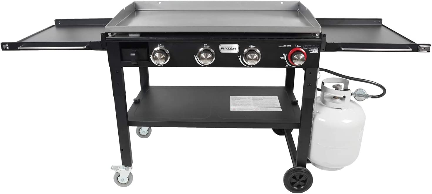 Razor Griddle GGC1643M 37 Inch Outdoor Propane Gas Grill Griddle
