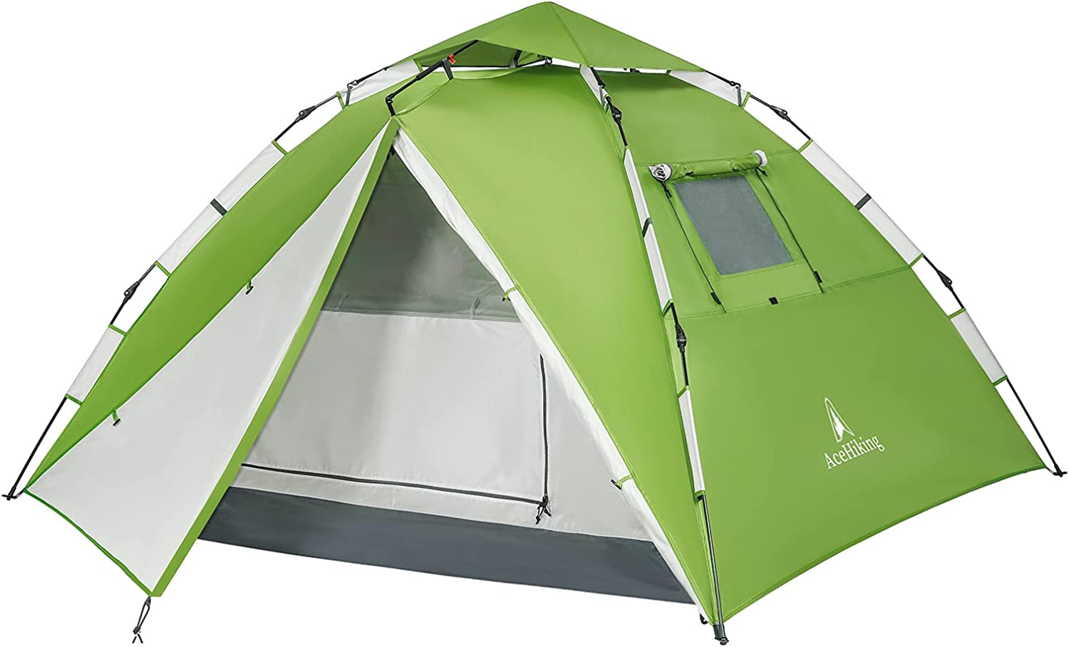 AceHiking 5 ☆ popular Instant Pop Up All items free shipping Family Portable 3-4 Person Camping Tent