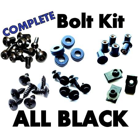Suzuki SV650 03 04 05 06 07 08 09 Motorcycle Fairing Bolt Kit Complete Screws and Fasteners kit SV 650 2003 2004 2005 2006 2007 2008 2009