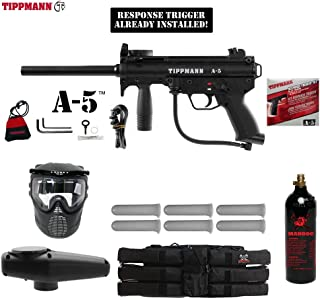 MAddog Tippmann A5 A-5 Titanium Paintball Gun Package