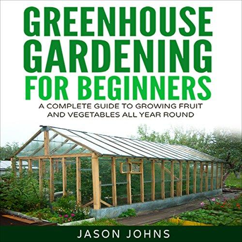 Page de couverture de Greenhouse Gardening