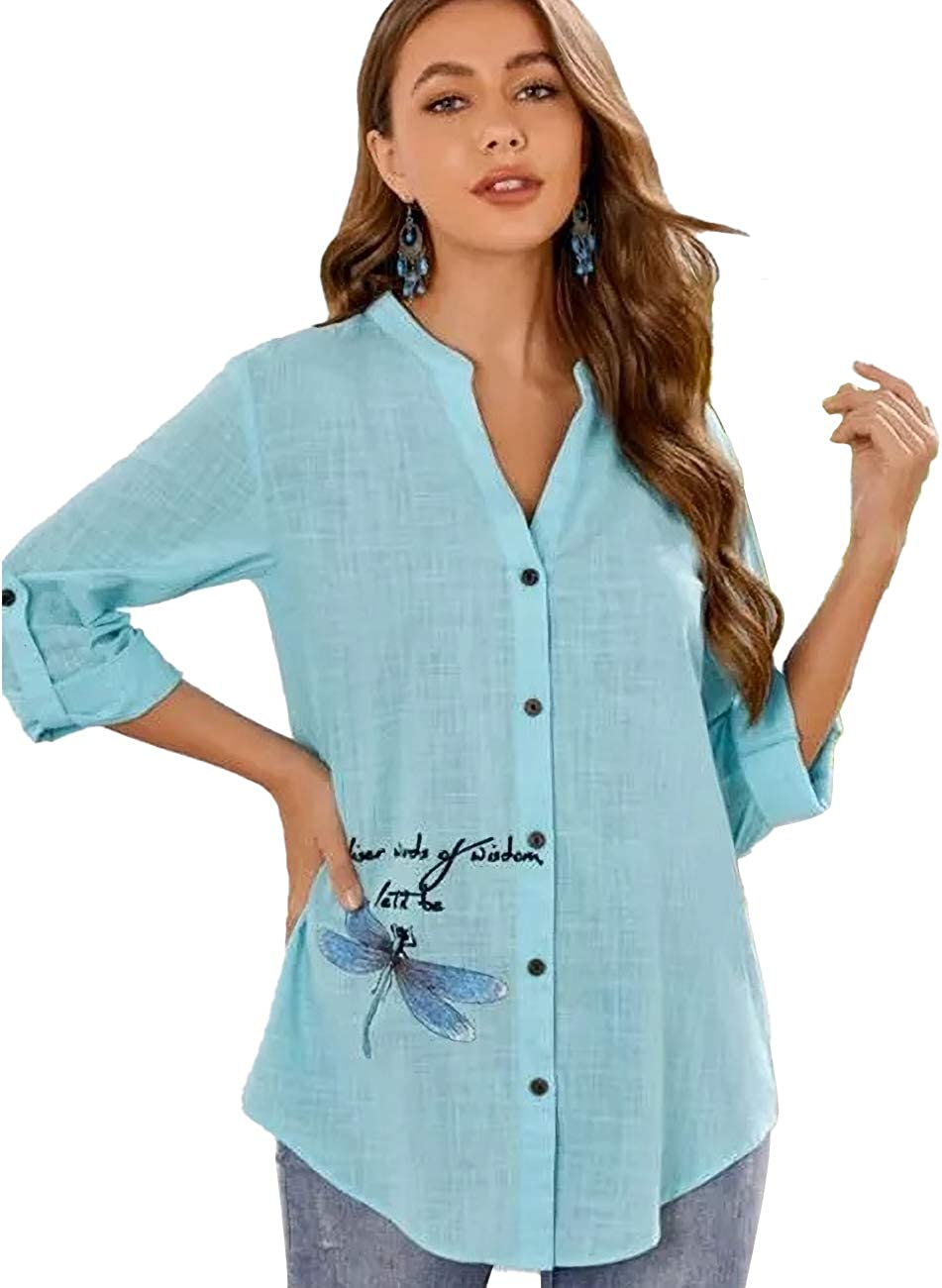 TICOSA low-pricing 2021 Autumn Winter New Sales Long Blouses Women's Sleeved Butto