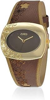 زايروس ساعة انالوج للنساء , جلد , متعدد الالوان - 15L126F010707
