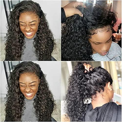 Releek Deep Wave Free Part Lace Front Wigs