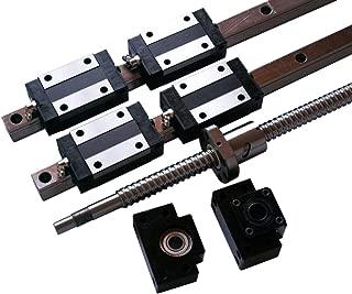 Joomen CNC 20mm Linear Guideway rail RM1605 ballscrew 1600mm Linear Motion Kit