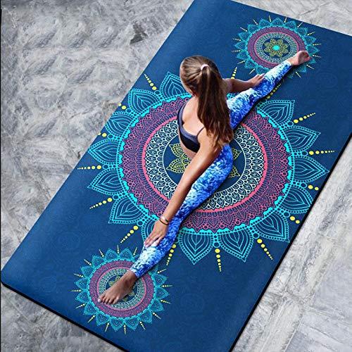 JJTXSQSMQM Fitness Mat Yoga Mats Floor Silicone Training Mat For Sport Fitness Epais Absorb Sweat
