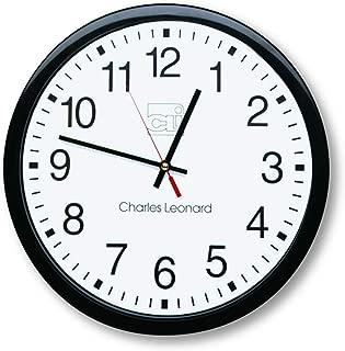 Charles Leonard Battery Operated Wall Clock
