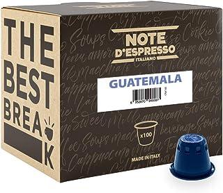 comprar comparacion Note D'Espresso Cápsulas de café de Guatemala exclusivamente compatibles con cafeteras Nespresso* - 100 Unidades de 5.6g,...