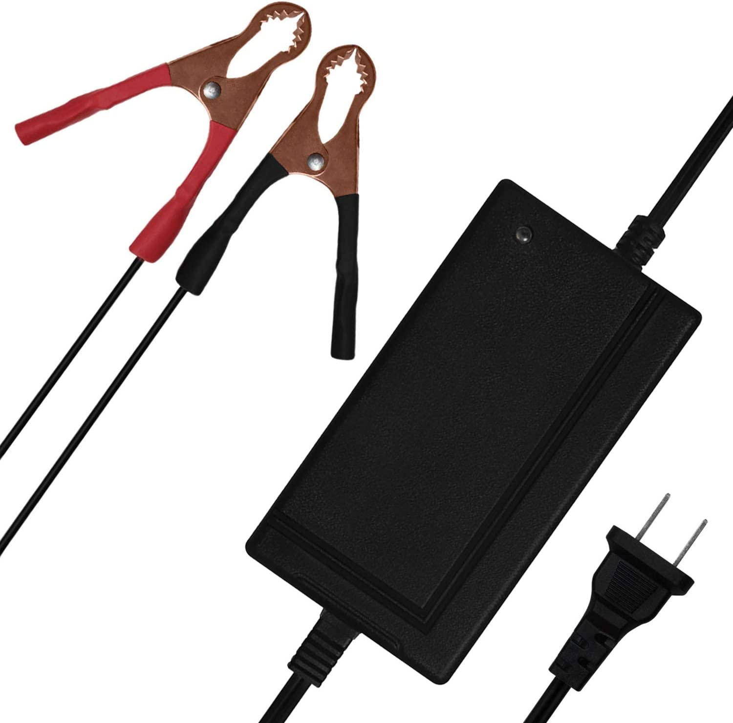 Mighty Max Battery OFFicial store 12V 4AMP for Outlet ☆ Free Shipping MAINTAINER Orth Charger 35AH