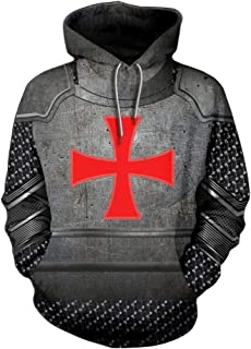 templar cross hoodie