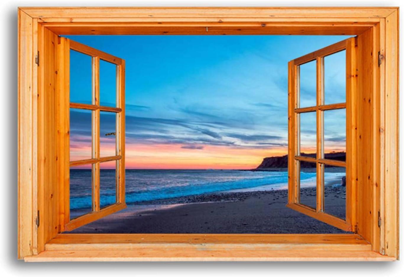 Canvas Wall Art Regular dealer Winter Sunset Excellent on Pictures Wal Ocean Framed Beach