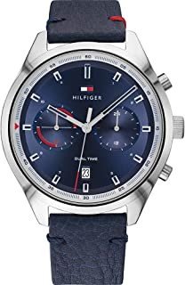 Tommy Hilfiger Men's Analogue Quartz Watch with Leather Strap 1791728