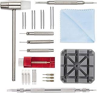 Kit de Réparation Montre Professionnel - Montre Bracelet Lien Pin Remover Kit de Réparation d'Outils de Watch Band pour Le...