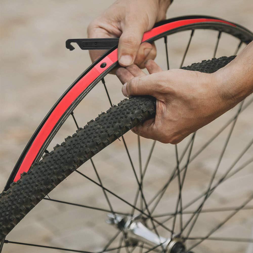 QitinDasen 4Pcs Premium PVC Cinta de Llanta de Bicicleta, 27.5 ...