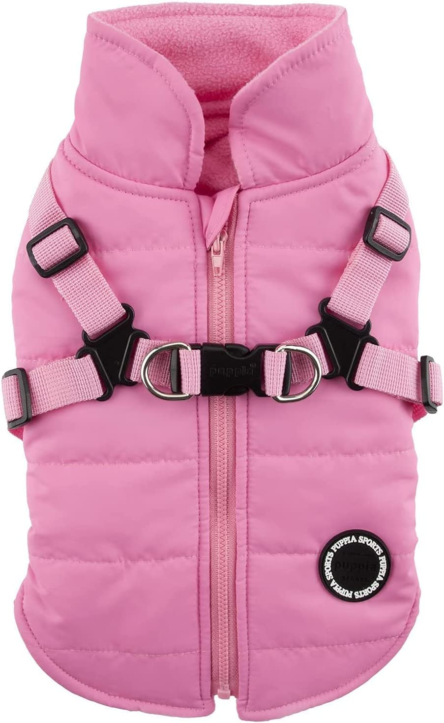 Puppia Mountaineer II Winter List price Fleece Integrated Har Direct sale of manufacturer Vest with Dog