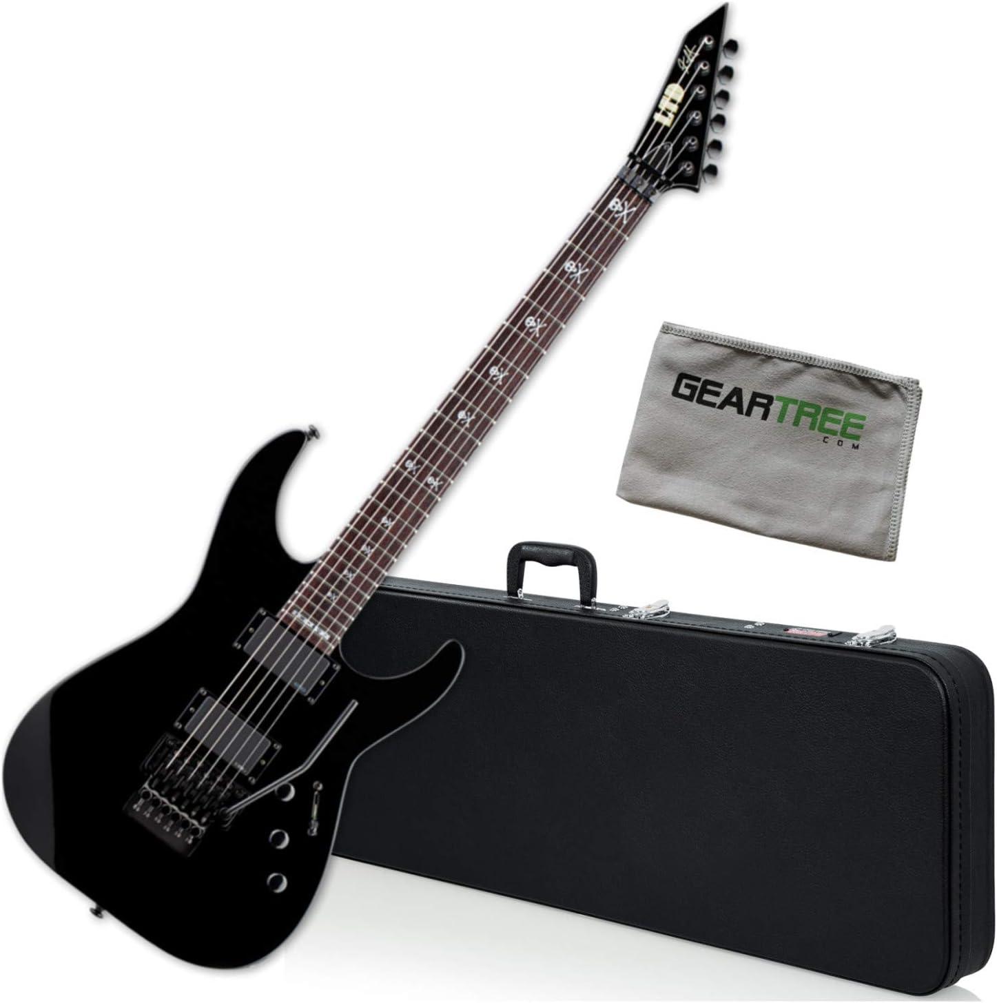 ESP KH-602 Kirk Hammett Cheap mail order shopping Signature w Electric Black Guitar Series Sacramento Mall