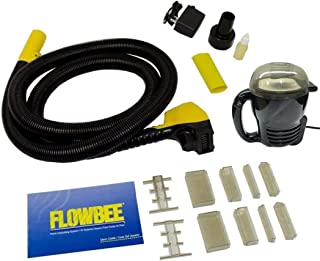 Flowbee Home Haircutting System with Flowbee Super Mini-Vac - Clipper Head/Hose, Vacuum & Accessories Included.