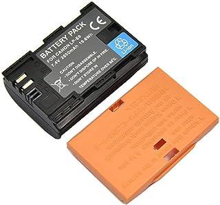 LP-E6 Portable 7.4V 2650mAh batería de Litio de Gran Capacidad Profesional para Canon EOS 6D 80D cámara Digital