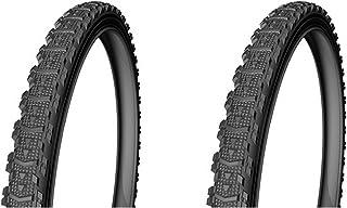 ONOGAL 2X Cubierta Rueda Neumatico para Bicicleta Urbana y MTB Mixta 26