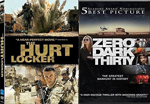 Combat Collection War Hurt Locker + Zero Dark Thirty Double Feature 2-DVD Bundle