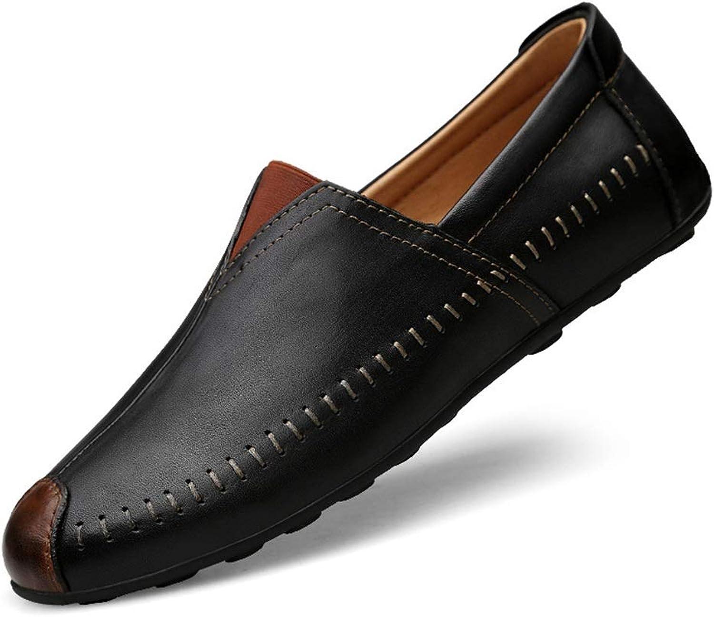 Mann skor läder Comfort Loafers Loafers Loafers och Slip -ON gående skor 2018 Springaa  Fall Drive skor  förstklassig service