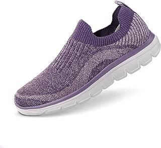AnTuoBsc Women Running Shoes Casual Sports Non Slip Walking Sneakers