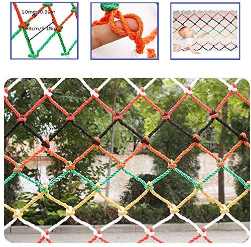 AI LI WEI Beschermende netto decoratie/Kindertrap Onbreekbaar Netto Balkon Bescherming Netto Nylon Veiligheidstouw Zwembad Beschermer Isolatie Anti-kat Netto Kleur Buiten Binnen