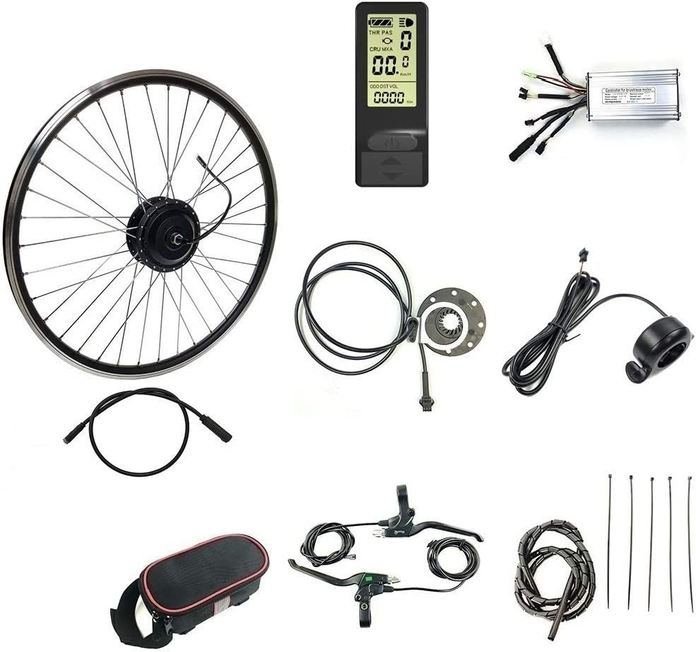 Schuck 36V 48V Austin Sales Mall 500W Electric Conversion Bicycle Ge Kit Brushless