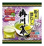 野村産業 のむらの茶園 粉末深むし掛川茶 スティック(0.5g*100本入)