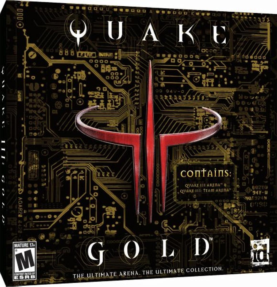 削除する推定する居住者Quake 3 Gold (Jewel Case) (輸入版)