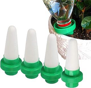 Kyerivs - Dispositivo de riego automático de Goteo de Plantas, regadera de cerámica para Plantas de Interior y Exterior, 4 Unidades