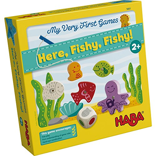 HABA My Very First Games - Here Fishy...