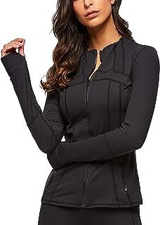 Women Running Yoga Slim UV Protect Sweatshirts with Two Side Pocket Jacket Coat