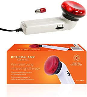 Red Light Therapy Infrared Heating Wand by Theralamp – Hand Held Heat Lamp with Replacement Bulb – Muscle Pain Relief, Inc...