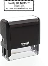 Self-Inking Custom Notary Public Stamp - South Carolina