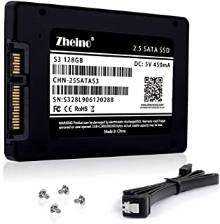 Zheino S3 SSD 128GB 内蔵2.5インチ 7mm 3D Nand 採用 SATA III 6Gb/s