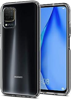 Spigen Huawei P40 Lite / nova 7i Kılıf Liquid Crystal 4 Tarafı Tam Koruma / Crystal Clear - ACS00973