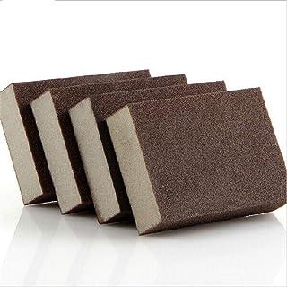 Hanpiyigqjhm Reinigingssponzen, 5 stuks van 10 * 70 * 25mm High-Density Emery Magic Spons voor het reinigen van huishoudel...