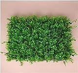 Artificiale Siepe Finta Piante artificiali Piante e fiori artificiali GXBCS Muschio del giardino domestico della zolla finta per la decorazione del pavimento Prati artificiali verdi della stuoia dell'