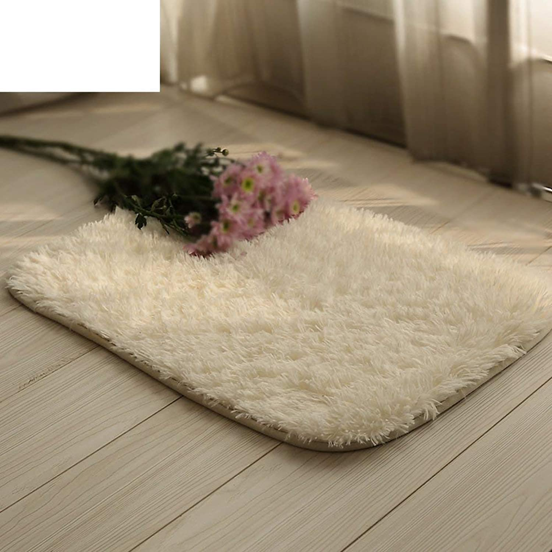 MAT Solid color Thick Carpet, Bathroom Absorbent mat