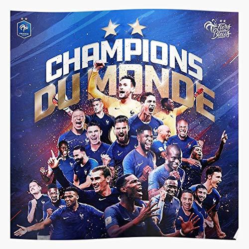 Anbugang France League Soccer Cup 1 Futball World Football Premier Ligue 2018 Poster di Stampa Artistica da Parete per la casa !