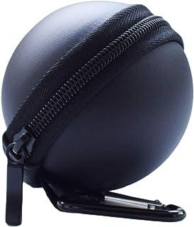 キャリングケース 任天堂スイッチモンスターボールプラスコントローラーケース 保護ポータブルアクセサリー ポケモン レッツゴーピカチュウ イーブイゲーム用 Carrying Case ブラック HK-Pokeball-gel-Dot-Black